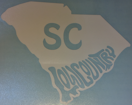 "South Carolina ""Low Country"" Vinyl Transfer"
