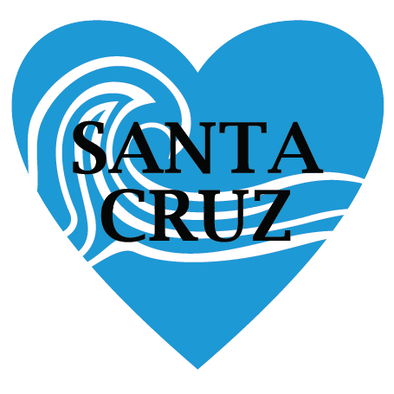 Sticker | Santa Cruz | In My Heart - The Heart Sticker Company