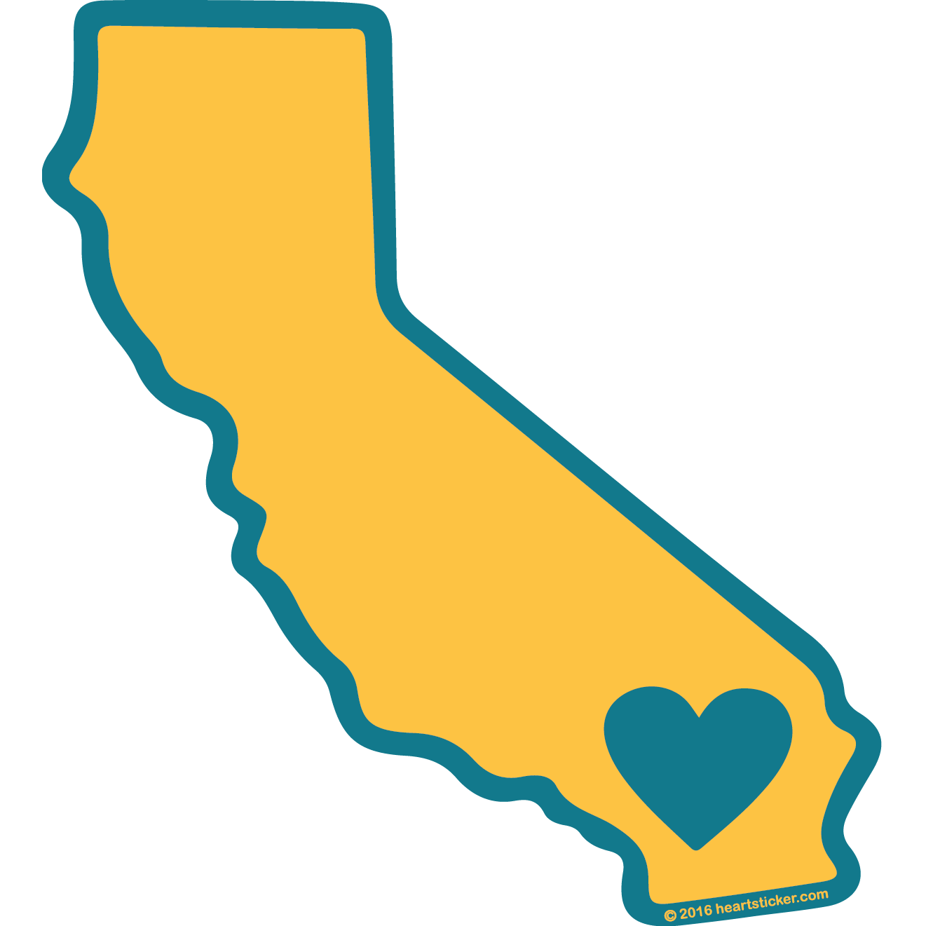 trending california stickers and patches the heart sticker company