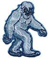 yeti walking arctic blue Bigfoot Sasquatch cousin