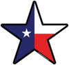 texas state flag design in star lone star