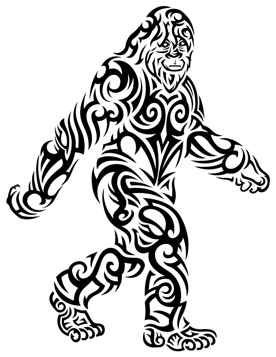 Sticker | Bigfoot Stroll | Vinyl Decal
