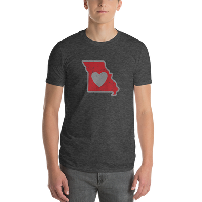 T-Shirt | Heart in Missouri | Short Sleeve