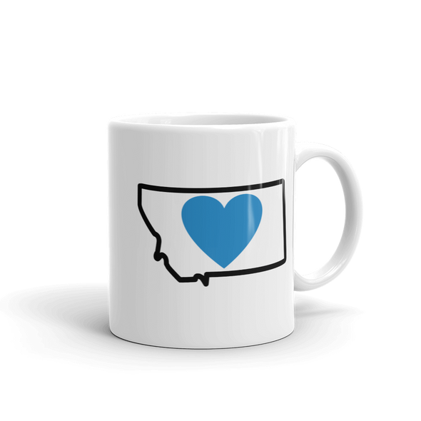 Drinkware | Heart in Montana | Coffee Mug - The Heart Sticker Company