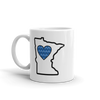 Drinkware | Heart in Minnesota | Coffee Mug - The Heart Sticker Company
