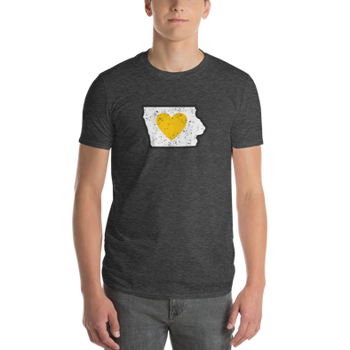 T-Shirt | Heart in Iowa | Short Sleeve - The Heart Sticker Company