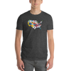 T-Shirt | Hearts in USA | Mens - The Heart Sticker Company