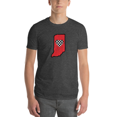 T-Shirt | Heart in Indiana | Short Sleeve