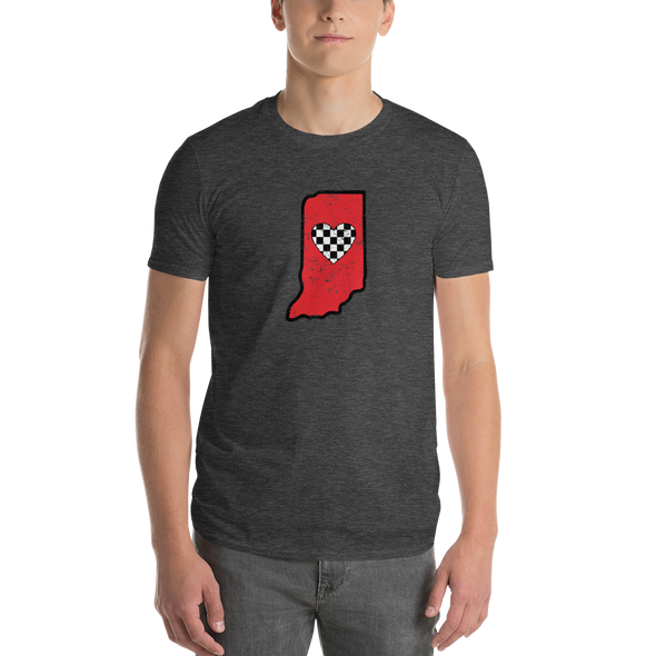 T-Shirt | Heart in Indiana | Short Sleeve - The Heart Sticker Company