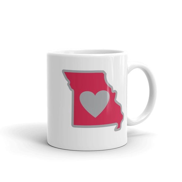 Drinkware | Heart in Missouri | Coffee Mug - The Heart Sticker Company