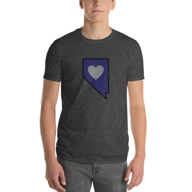 T-Shirt | Heart in Nevada | Short Sleeve