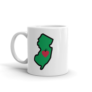 Drinkware | Heart in New Jersey | Coffee Mug - The Heart Sticker Company