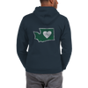 Hoodie | Heart in Washington | Full Zip