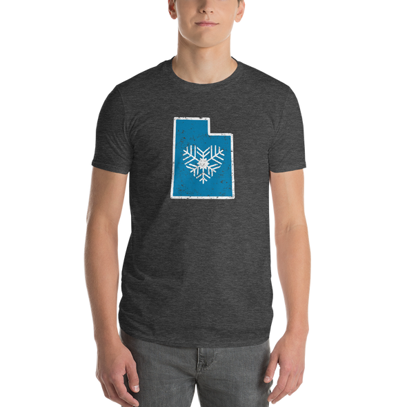 T-Shirt | Heart in Utah | Short Sleeve - The Heart Sticker Company