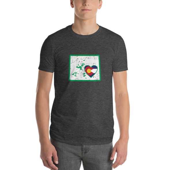 T-Shirt | Heart in Colorado | Short Sleeve - The Heart Sticker Company