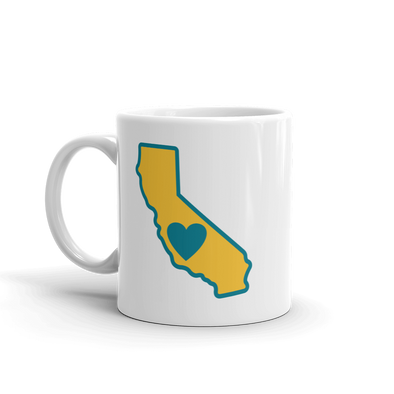 Drinkware | Heart in California | Coffee Mug