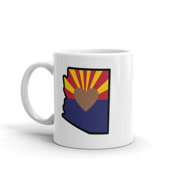 Drinkware | Heart in Arizona | Coffee Mug - The Heart Sticker Company