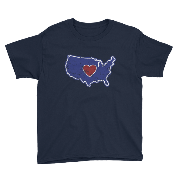 T-Shirt | Heart in America | Youth