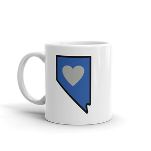 Drinkware | Heart in Nevada | Coffee Mug - The Heart Sticker Company