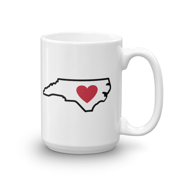 Drinkware | Heart in North Carolina | Coffee Mug - The Heart Sticker Company