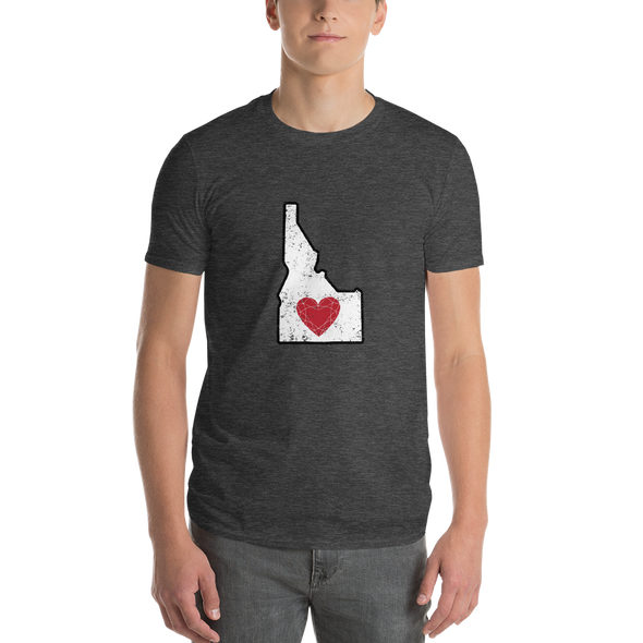 T-Shirt | Heart in Idaho | Short Sleeve - The Heart Sticker Company