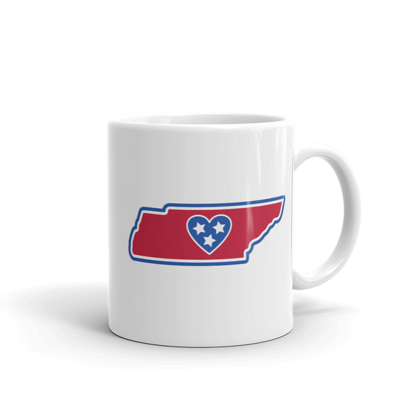 Drinkware | Heart in Tennessee | Coffee Mug - The Heart Sticker Company