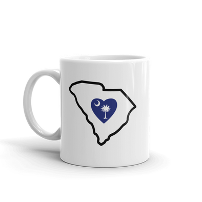 Drinkware | Heart in South Carolina | Coffee Mug