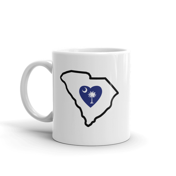 Drinkware | Heart in South Carolina | Coffee Mug - The Heart Sticker Company