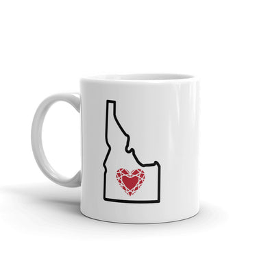 Drinkware | Heart in Idaho | Coffee Mug - The Heart Sticker Company