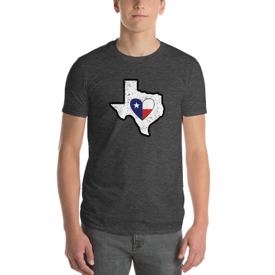 T-Shirt | Heart in Texas | Short Sleeve