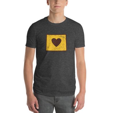 T-Shirt | Heart in Wyoming | Short Sleeve