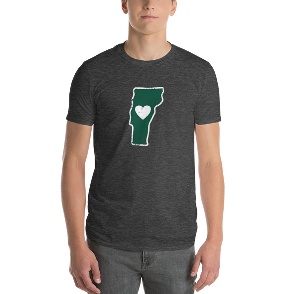 T-Shirt | Heart in Vermont | Short Sleeve - The Heart Sticker Company