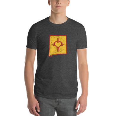 T-Shirt | Heart in New Mexico | Short Sleeve - The Heart Sticker Company