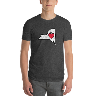 T-Shirt | Heart in New York | Short Sleeve