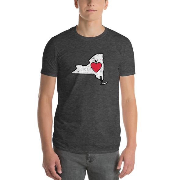 T-Shirt | Heart in New York | Short Sleeve - The Heart Sticker Company
