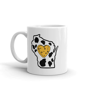 Drinkware | Heart in Wisconsin | Coffee Mug - The Heart Sticker Company