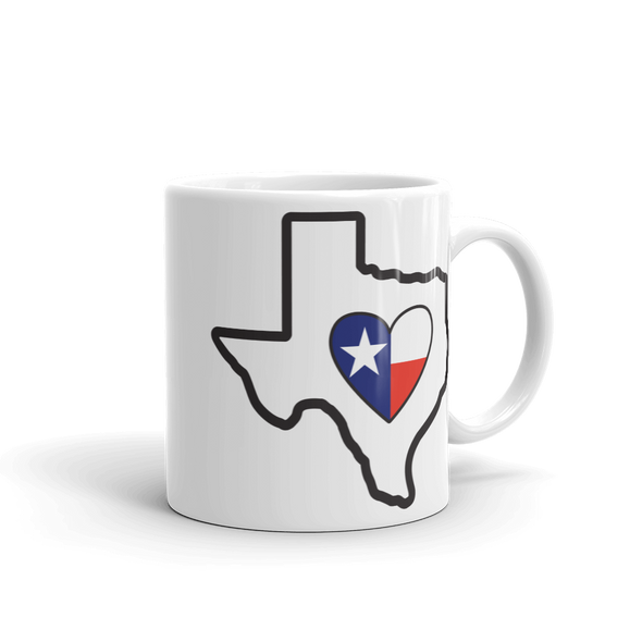 Drinkware | Heart in Texas | Coffee Mug
