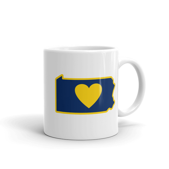 Drinkware | Heart in Pennsylvania | Coffee Mug - The Heart Sticker Company