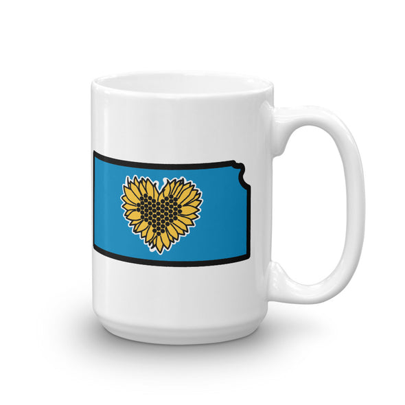 Drinkware | Heart in Kansas | Coffee Mug - The Heart Sticker Company