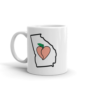 Drinkware | Heart in Georgia | Coffee Mug - The Heart Sticker Company