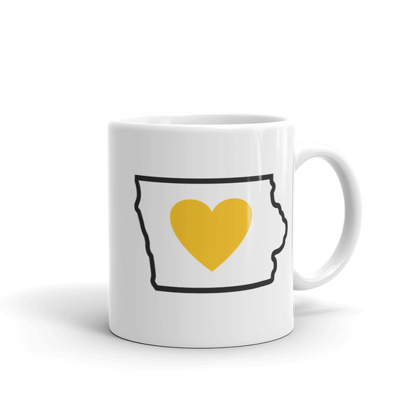 Drinkware | Heart in Iowa | Coffee Mug - The Heart Sticker Company