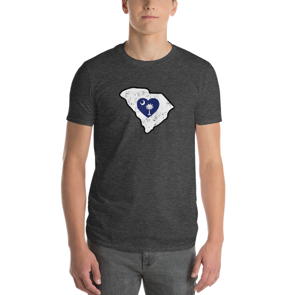 T-Shirt | Heart in South Carolina | Short Sleeve - The Heart Sticker Company