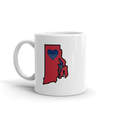 Drinkware | Heart in Rhode Island | Coffee Mug
