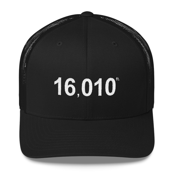 Trucker Hat | 16010 ft | Snap Back - The Heart Sticker Company