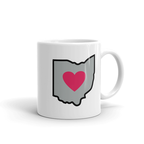 Drinkware | Heart in Ohio | Coffee Mug - The Heart Sticker Company