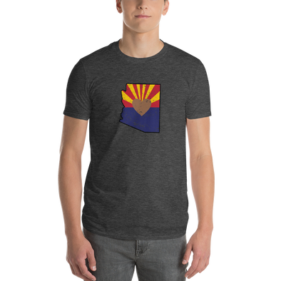 T-Shirt | Heart in Arizona | Short Sleeve - The Heart Sticker Company