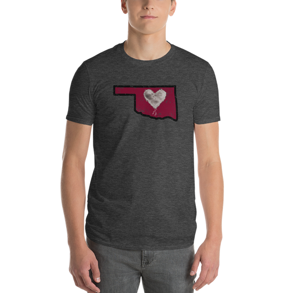 T-Shirt | Heart in Oklahoma | Short Sleeve - The Heart Sticker Company