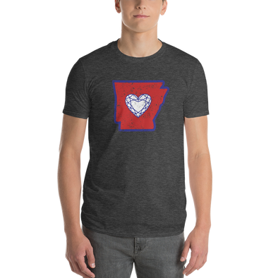 T-Shirt | Heart in Arkansas | Short Sleeve