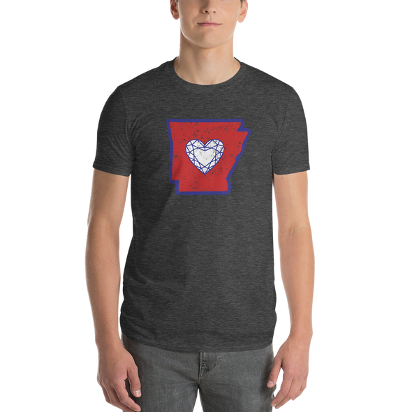 T-Shirt | Heart in Arkansas | Short Sleeve - The Heart Sticker Company