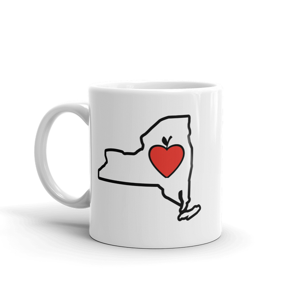 Drinkware | Heart in New York | Coffee Mug - The Heart Sticker Company